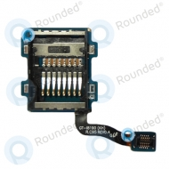 Samsung i8190 Galaxy S3 Mini Simcard reader module, Simcard reader Black spare part JCAF A204c