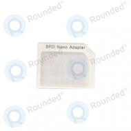Sim adapter BRD nano 21087 white