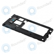 LG P700 Optimus L7 cover middle, middle housing black