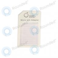 Sim adapter micro sim card 21087 white