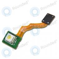 Samsung Galaxy Note 10.1 N8000, N8010 flashlight module flex connector