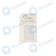 Sim adapter nano sim card 21087 white