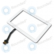 Samsung Galaxy Tab 10.1 P7500 display digitizer, touchpanel white
