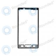 LG Optimus L9 P760 cover front, front side housing ACQ86099202 black