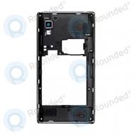 LG Optimus L9 P760 cover middle, middle housing ACQ86131102 black