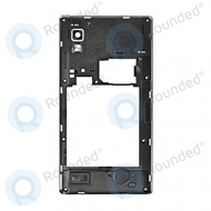 LG Optimus L9 P760 cover middle, middle housing ACQ86332901 white