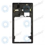Huawei Ascend W1 back housing black