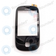 Huawei Ascend Y100 front cover black