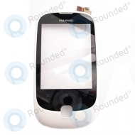 Huawei Ascend Y100 front cover white