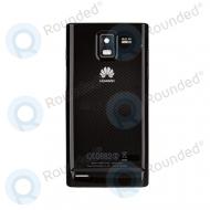 Huawei U9200 Ascend P1 battery cover black