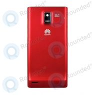 Huawei U9200 Ascend P1 battery cover red