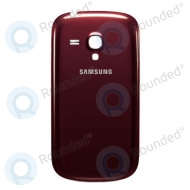 Samsung i8190 Galaxy S3 battery cover garnet red