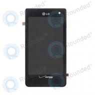 LG VS840 Lucid display module complete black