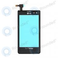 LG VS840 Lucid display digitizer black
