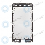LG VS840 Lucid middle cover black