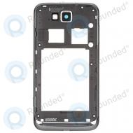 Samsung Ativ S I8750 back housing (grey)