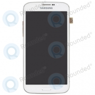 Samsung Galaxy Mega 5.8 I9152 LCD display with digitizer and front housing (white)