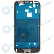 Samsung Galaxy Mega 5.8 I9152 front housing (black)