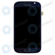 Samsung I9080, I9082 Galaxy Grand (Duos) display module complete pebble blue