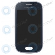 Samsung Galaxy Fame Display module + front cover (black)