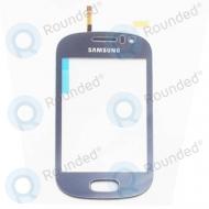 Samsung Galaxy Fame Aanraak scherm (blauw)