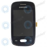 Samsung Galaxy Pocket Neo S5310, S5312 Display module + front cover (black)