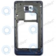 Samsung Galaxy S2 Plus i9105P Middenbehuizing (blauw) GH98-25681A