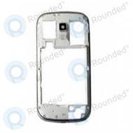 Samsung Galaxy S Duos S7562 Back cover, Back frame Zwart onderdeel BACKC