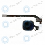 Apple iPhone 5S Home button flex cable with home button black