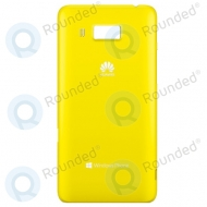 Huawei Ascend W2 Batterycover yellow