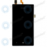 Huawei Ascend W2 Display module frontcover + lcd + digitizer black