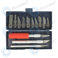 P-Pack  knife set 16pcs (for profesional detaching digitizers, touchanels)