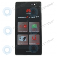 Huawei Ascend P7 Back cover black