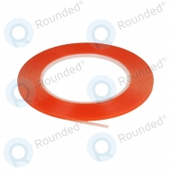 Dubbelzijdige montage tape 0.3cm (red-transparance)