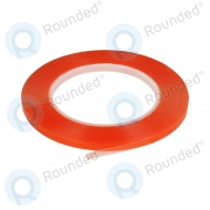 Dubbelzijdige montage tape 0.5cm (red-transparance)
