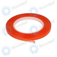 Dubbelzijdige montage tape 0.8cm (red-transparance)