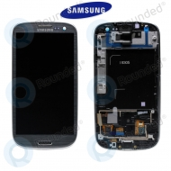 Samsung Galaxy S3 4G/LTE (I9305) Display unit complete grey titanium (GH97-14106A)