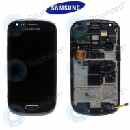 Samsung Galaxy S3 Mini (I8190) Display unit complete black (GH97-14204C)