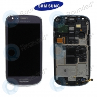 Samsung Galaxy S3 Mini (I8190) Display unit complete grey (GH97-14204D)