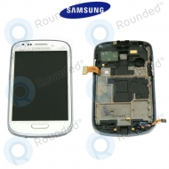 Samsung Galaxy S3 Mini (I8190) Display unit complete La Fleur (GH97-14457A)