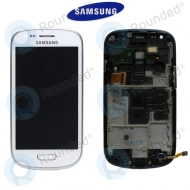 Samsung Galaxy S3 Mini (I8190) Display unit complete white (GH97-14204A)
