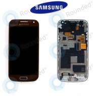 Samsung Galaxy S4 Mini (I9195) Display unit complete brown (GH97-14766D)