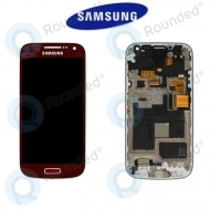 Samsung Galaxy S4 Mini (I9195) Display unit complete La Fleur (GH97-15541A)