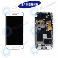 Samsung Galaxy S4 Mini (I9195) Display unit complete white (GH97-14766B)
