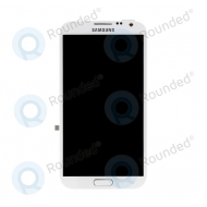 Samsung Galaxy Note 2 4G (N7105) Display unit complete whiteGH97-14114A