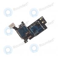 Samsung Galaxy Note 2 4G (N7105) Sim card, micro SD module  GH59-12800A