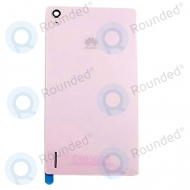 Huawei Ascend P7 Battery cover pink