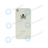 MyPhone for iPhone 4 and 4S Battery cover white