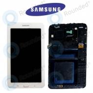 Samsung Galaxy Tab 3 Lite 7.0 (SM-T110) Display unit complete whiteGH97-15505A