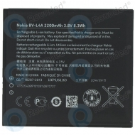 Nokia Li-Ion BV-L4A Battery 2200mAh 0670727